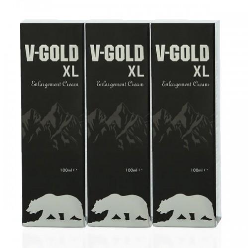 V-Gold Cream 100ml 3'lü Set