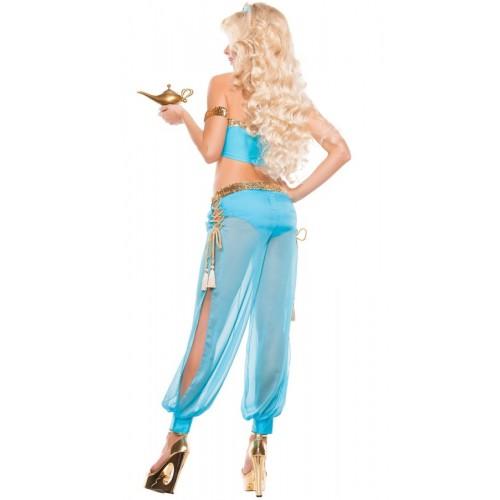 Merry See Mavi Şık Dansöz Elbisesi Kostümü