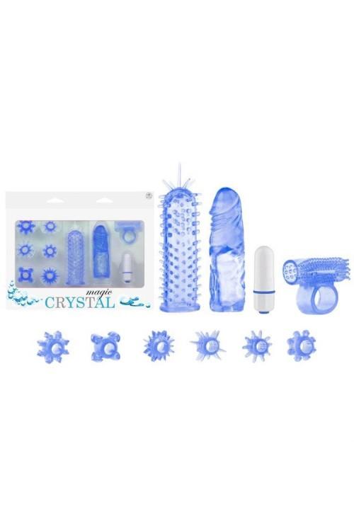Magic Crystal Orgazm Seti - Mavi 2